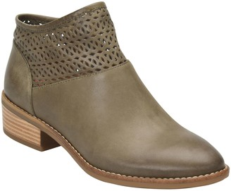 Comfortiva Leather Ankle Boots - Cailean