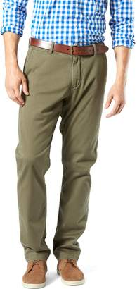 Dockers Men's Athletic-Fit Stretch Washed Khaki Pants