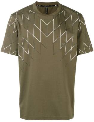 Neil Barrett geometric print T-shirt