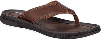 Kenneth Cole Men's Leather Thong Sandals