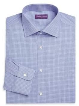Ralph Lauren Purple Label Aston Blue Check Button-Down
