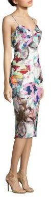 Black Halo Lolah Butterly-Print Dress $375 thestylecure.com