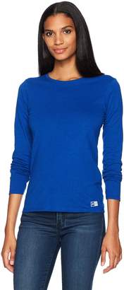Russell Athletic Women's Essential Long Sleeve Tee Shirt, -, S