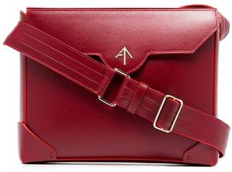 Atelier Manu red Bold leather cross-body bag