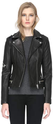 Soia & Kyo JASMINA slim-fit leather jacket