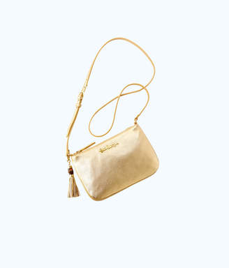 Lilly Pulitzer Cruisin Leather Crossbody Bag