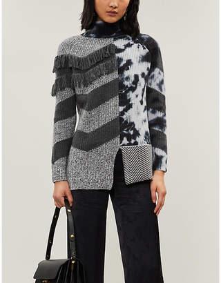 Zoe Jordan Feiffer wool and cashmere-blend knitted jumper