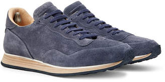 Officine Creative Keino Perforated Suede Sneakers