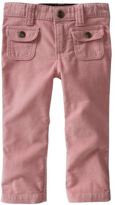 Patch pocket corduroy pants