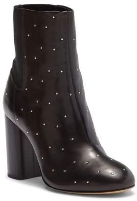 Rag & Bone Agnes Leather Block Heel Bootie