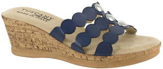 Easy Street Shoes Womens Torina Wedge Sandals