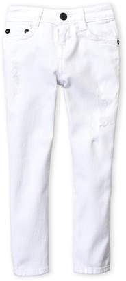 True Religion Boys 4-7) White Rocco Distressed Jeans
