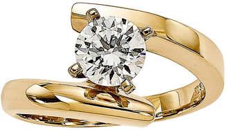 MODERN BRIDE 1/2 CT. Diamond 14K Yellow Gold Solitaire Ring