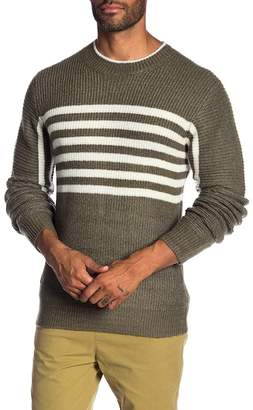 NATIVE YOUTH Arches Stripe Knit Sweater
