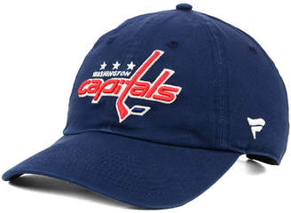 Authentic Nhl Headwear Washington Capitals Fan Relaxed Adjustable Strapback Cap