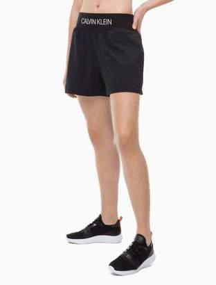 Calvin Klein logo sport shorts