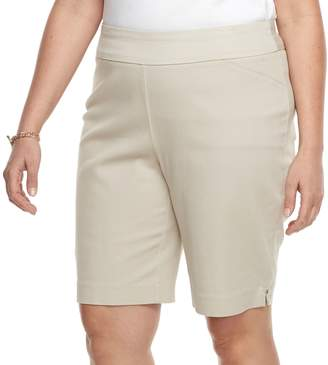 Croft & Barrow Plus Size Pull-On Bermuda Shorts