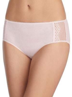 OnGossamer Lace-Trim Panty
