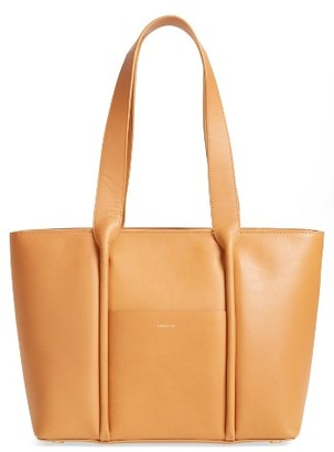 Skagen Lisabet Leather Tote - Beige $295 thestylecure.com