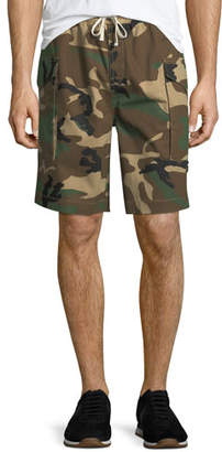 Ovadia & Sons Men's Tribeca Camo Cargo Shorts
