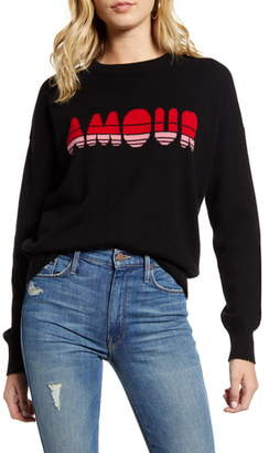 Zadig & Voltaire Gaby C Amour Graphic Cashmere Sweater