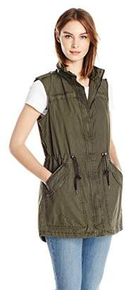 Levi's Women's Light Weight Cotton Fishtail Vest
