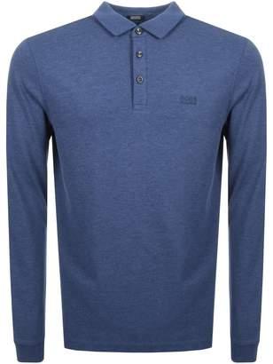 HUGO BOSS Pado 10 Polo T Shirt Blue