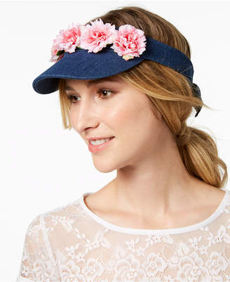 Betsey Johnson Garden Party Cotton Visor