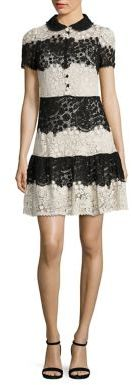 RED Valentino Horizontal Lace Dress $1,495 thestylecure.com