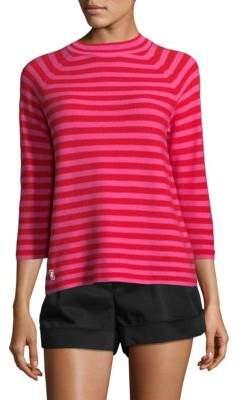Marc Jacobs Striped Mockneck Sweater