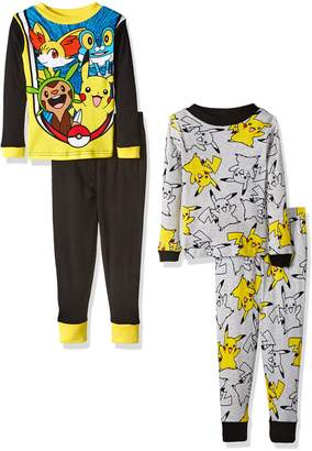 Pokemon Little Boys' Pikachu-Piece Cotton Pajama Set