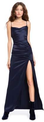 Alice + Olivia Diana Ruched Maxi Dress