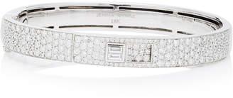Prive Jemma Wynne White Gold Luxe Diamond 8Mm Pave Cuff