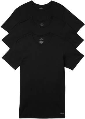 Calvin Klein Underwear 3-Pack Slim-Fit Crew Neck T-Shirts