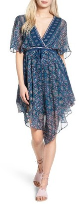 Women's Ella Moss Wayfair Silk Dress $258 thestylecure.com