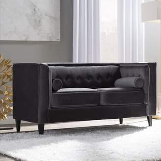 Willa Arlo Interiors Roberta Chesterfield Loveseat Upholstery