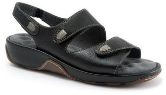 SoftWalk Adjustable Leather Sandals - Blovia