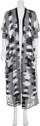 Missoni Printed Open Front Cardigan