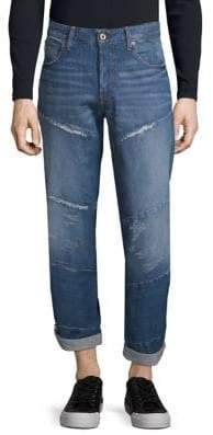 G Star Spiraq 3D Distressed Jeans
