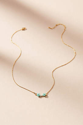 Anthropologie Fredrica Floral Pendant Necklace