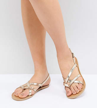London Rebel Flat Sandals