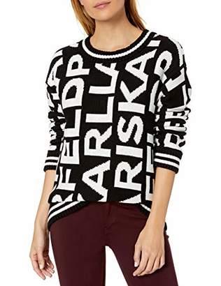 Karl Lagerfeld Paris Women's Logo Sweater