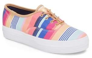 Keds R) x Sunnylife Triple Catalina Stripe Kickstart Sneaker
