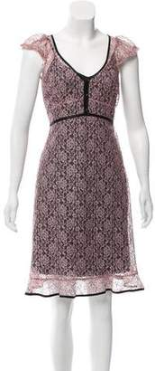 Betsey Johnson Lace Knee-Length Dress