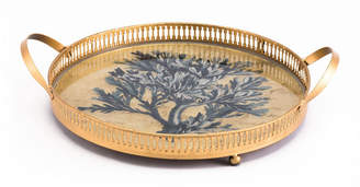 ZUO Coral Tray Blue