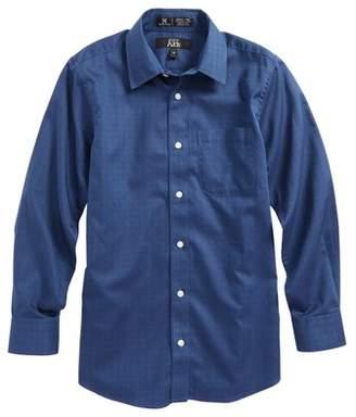 Nordstrom Dot Jacquard Sport Shirt