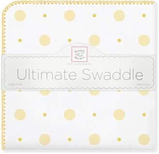 Swaddle Designs Ultimate Swaddle Blanket Premium Cotton Flannel Big Dot Little Dot