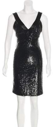 Alice + Olivia Sequin Bodycon Dress