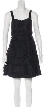 Marc by Marc Jacobs Sleeveless A-Line Mini Dress