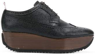 Thom Browne Leather Brogue Platform